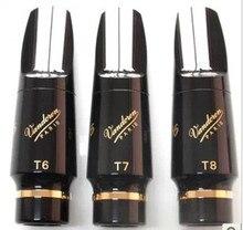 Фирменная Новинка Vandoren V16 Эбонит тенор мундштуки бакелит рот куски T5 T6 T7 T8 T9