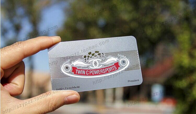 Selbstbewusst Verlegen Metallic Color Unsicher Gehemmt Metal Business Cards Befangen 100pcs A Lot Deluxe Metal Business Card Vip Cards,double-side Free Shipping No.3010