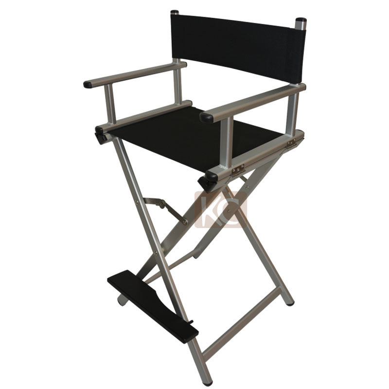 Folding Aluminum Director Chair Portable Makeup Silver Black Color Available For Option In Barber Chairs From Furniture On Aliexpress Alibaba