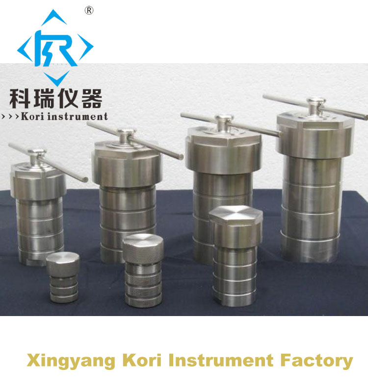 Hydrothermal Synthesis Reactor vessel / Lab MicroReactor price ruminant feeds evaluation for microbial biomass synthesis efficiency