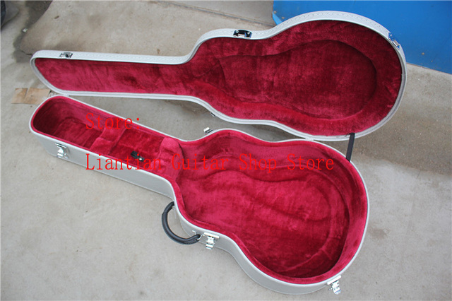 e49e9ebe23 wholesale luxury Gretsch Guitar Case Gray Hardcase ,need with guitar for  sale, please buy carefully, No sold separately -17-12