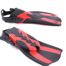 WHALE Adult Swimming Fins Snorkeling Diving Foot Flippers with Adjustable Heel Flexible Comfort Profession