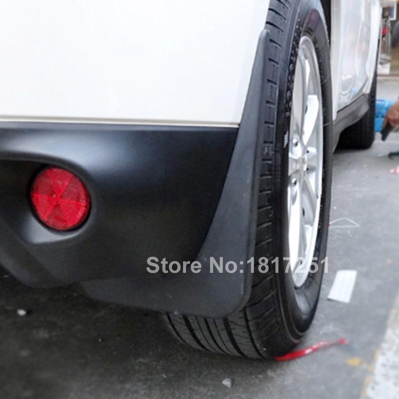 Car Accessories Mud Flaps Splash Guards Cover Car mudguards Fenders Splasher Mudflap For Mitsubishi ASX RVR 2016 2013 2014 2015 все цены