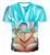 Dragon Ball Z T-Shirt Super Saiyan 3d T Áo Sơ Mi Tees Tops hoạt hình 3d Vegeta Hip Hop Men/chàng trai Dbz Tee Áo Sơ Mi Áo Cộng Với kích thước