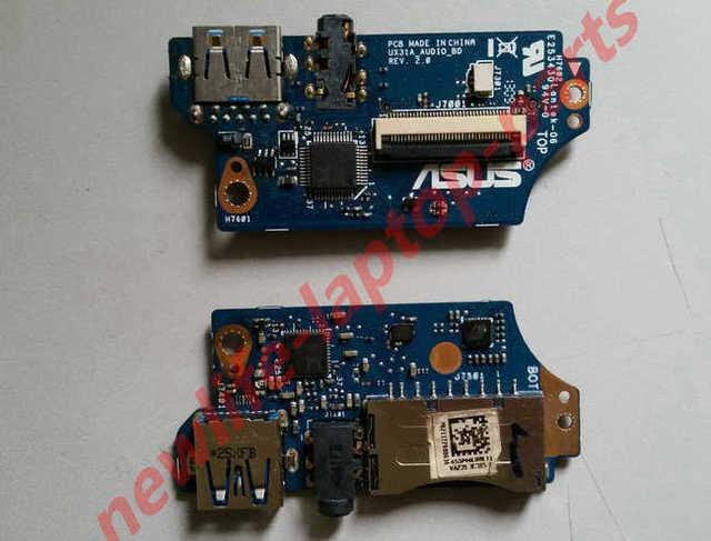 UX31 UX31A originais PLACA USB PLACA DE ÁUDIO UX31A_AUDIO_BD bom teste frete grátis