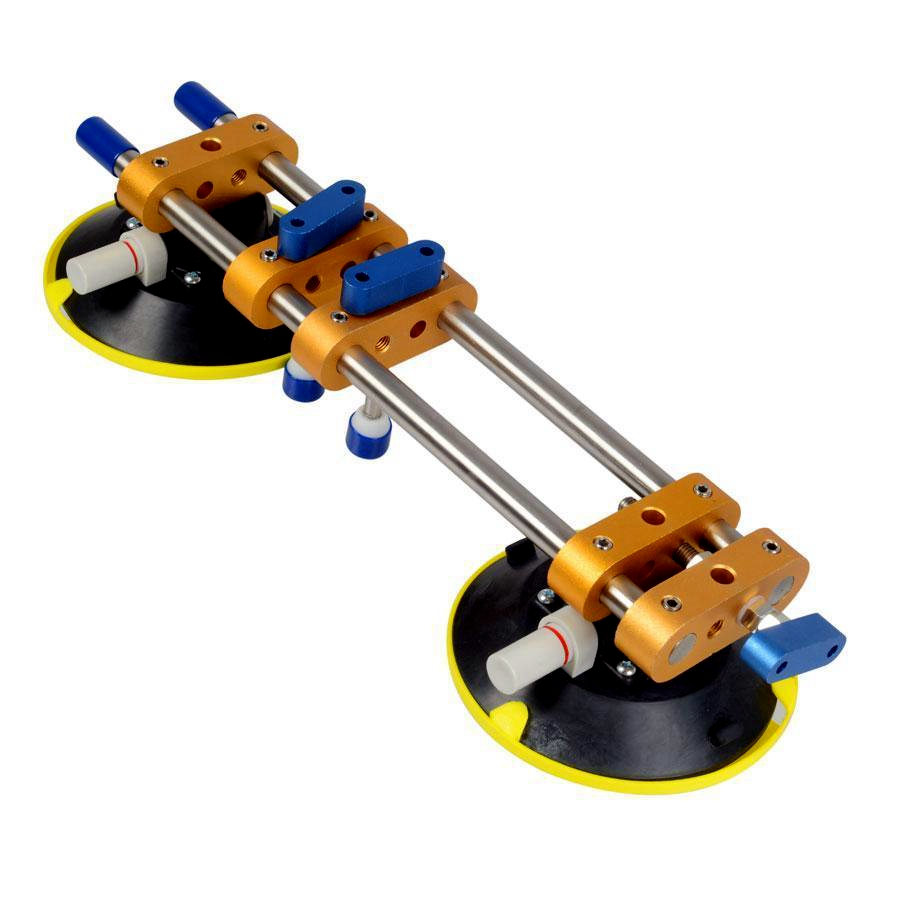 "Stone Seam Setter Manual Rubber Vacuum leveling Setter for joint with 6"" Suction Cups 6 inch seamless"
