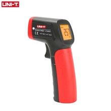 UNI T UT300A + ليزر الأشعة تحت الحمراء ميزان الحرارة يده Termometro الرقمية الصناعية عدم الاتصال مقياس الحرارة بالليزر بندقية