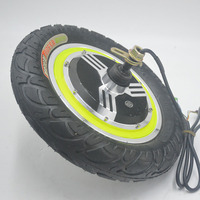 350W 24V 36V 48V Brushless Non gear Hub Motor For Ebike Engine Wheel Scooter Motor Electric Bike e bike 12inch wheel
