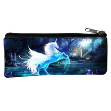 Special Offer Polyester Printing Mythical Animals Horse Children Coin Purses Kids Babys Pen Bags Womens Key Wallets for Teenage