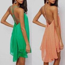 Brand Fashion Women Dress Sexy Quality Casual Chiffon Summer Style Tropical Vestidos De Festa Femininas Summer Dress