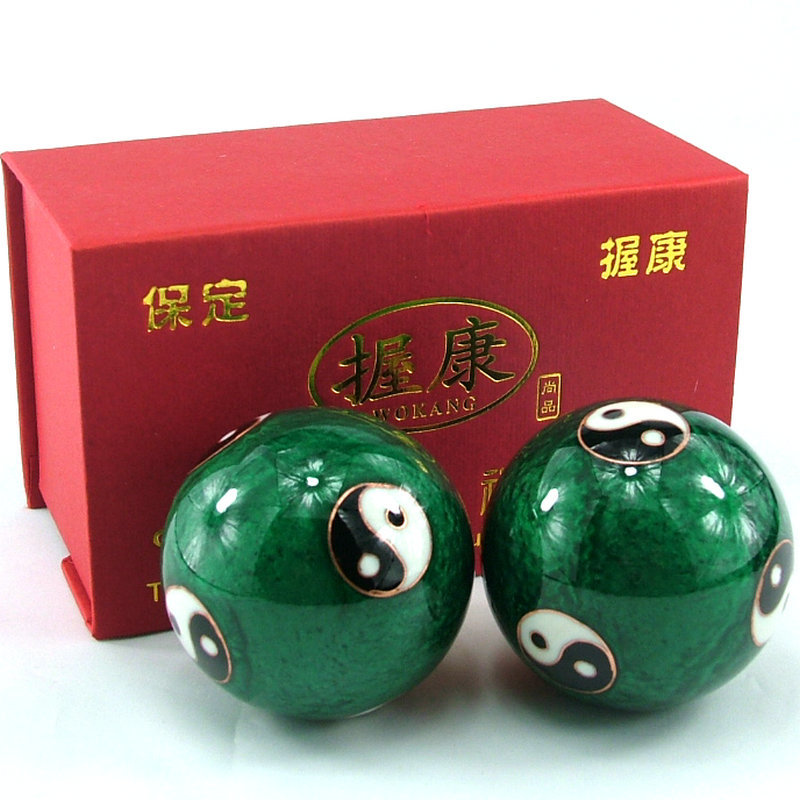 Chinese Health Exercise Balls,Hand Ball Diameter ,one Pair, Birthday Gift