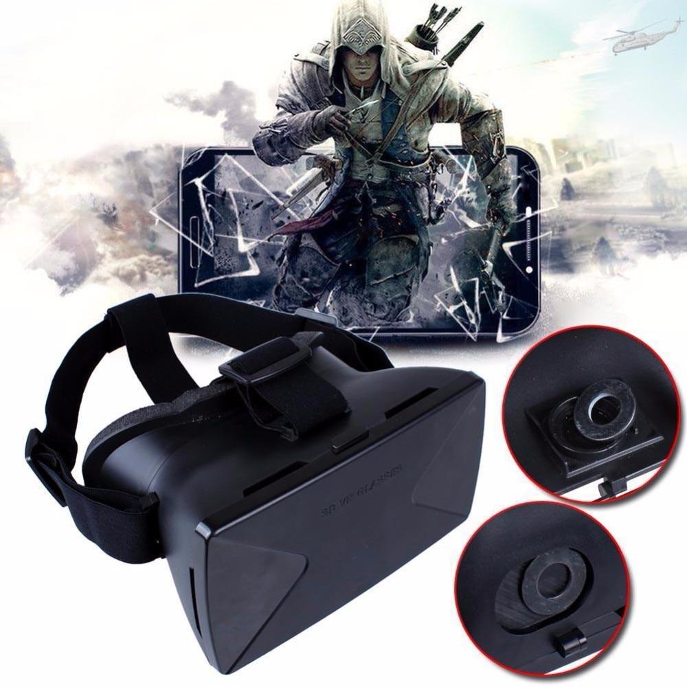 <font><b>VR</b></font> <font><b>GLASSES</b></font> <font><b>Smart</b></font> <font><b>Phone</b></font> Head Mount Virtual Reality 3D <font><b>Glasses</b></font> HD <font><b>Private</b></font> Movie <font><b>Theater</b></font> Game Playing + Bluetooth Controller <font><b>VR</b></font> Box