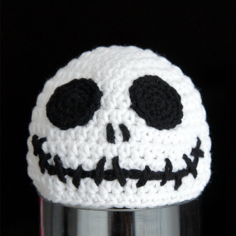 Handmade Knitted Crochet Baby Halloween Hatspumpkin Jack Lantern