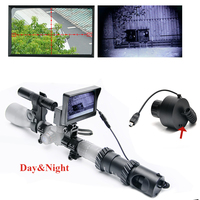 Upgrade Outdoor Hunting Optics Sight Tactical Digital Infrared Night Vision Telescope Binoculars With LCD Use In