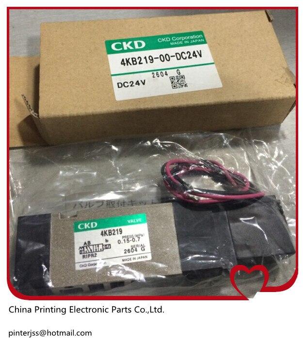 цена на solenoid valve 4KB219-00-DC24V machine parts DC24V
