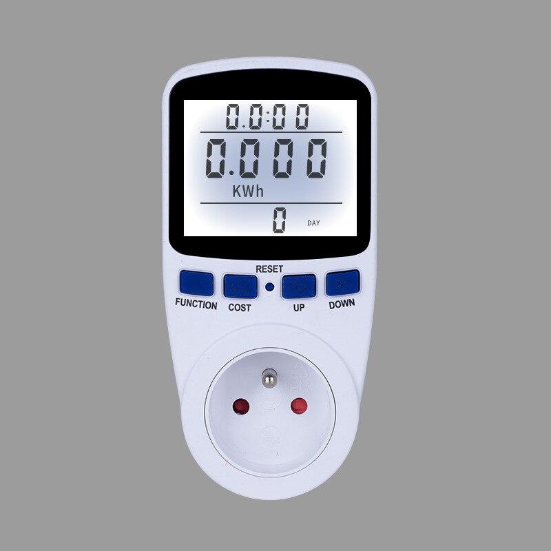 Großen Rabatt Digital Power Meter Hintergrundbeleuchtung Energie Meter Wattmeter KWH Strom Spannung Leistung Energie Analyzer Steckdose