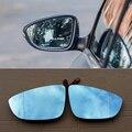 Ipoboo 2 шт. новые мощные с подогревом w/поворотные боковые зеркальные синие очки для Volkswagen Sagitar