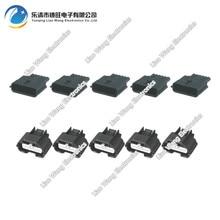 5 Sets 6 pin air flowmeter plug  harness connector modified accessories DJ7061K-0.6-11 / 21
