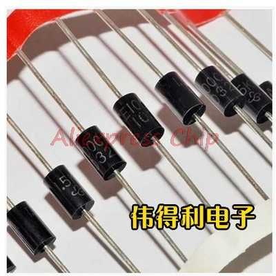 1 pièces/lot 1N5352B 1N5352 IN5352 DO-15 5 watts surmétique 40 Zener régulateurs de tension en Stock