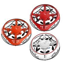 Горячие игрушки для детей маленькая интеллектуальная индукция четыре Axisess Aircraftes капли резисторы мини-Квадрокоптер, Дрон игрушки