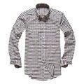 Mens Plaid Shirt Cotton Long Sleeve Button Decoration Camisa Social Slim Dress Shirt Chemise Homme Plus Size S-4XL 5 Colors