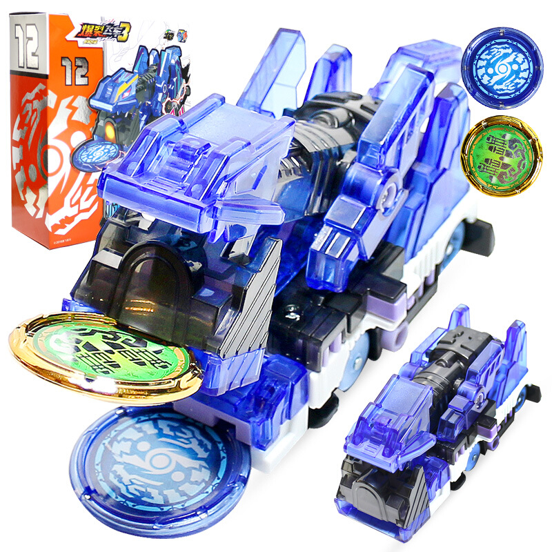 Toys Transformation Car-Action-Figures Cars Wafer-360 Burst-Speed Flip Screechers Wild