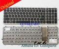 720242-001 6037B0082601 GENUINE ORIGINAL For HP KEYBOARD TOUCHSMART 15-J SERIES Laptop Keyboard With Silver Frame