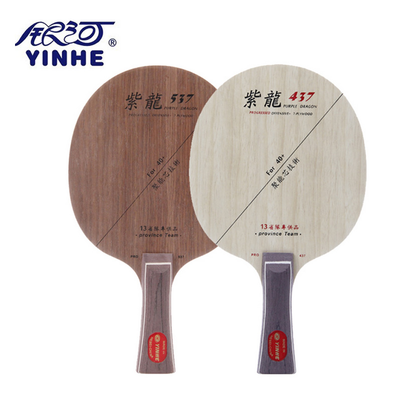 Yinhe Purple Dragon 537 PD 437 OFF Table Tennis Blade for Racket for 40 new material