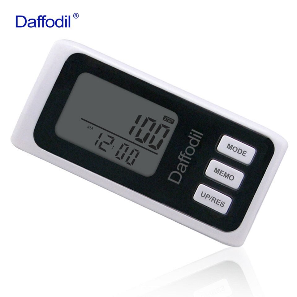 Daffodil 3D Walking Pedometer Accurate Step Counter with 7 day Memory Function, Calorie Counter and Daily Progress Monitor power and memory 6 electronic counter jd116h other page href