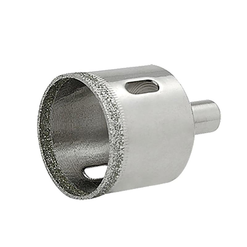 1pcs Diamond Coated Drill Bit Set Tile Marble Glass Ceramic Hole Saw Drilling Bits For Power Tools Hole Diameter : 35mm