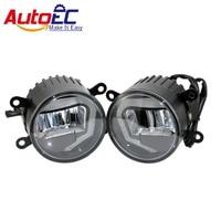 10set 2 In 1 6000k 10w LED Car Auto Fog Light Daytime Running Light DRL DC12
