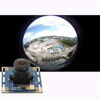 360 Degree 2MP CCTV USB Camera Mini 38 38mm Module 1920 1080 MJPEG 30fps 1280 720