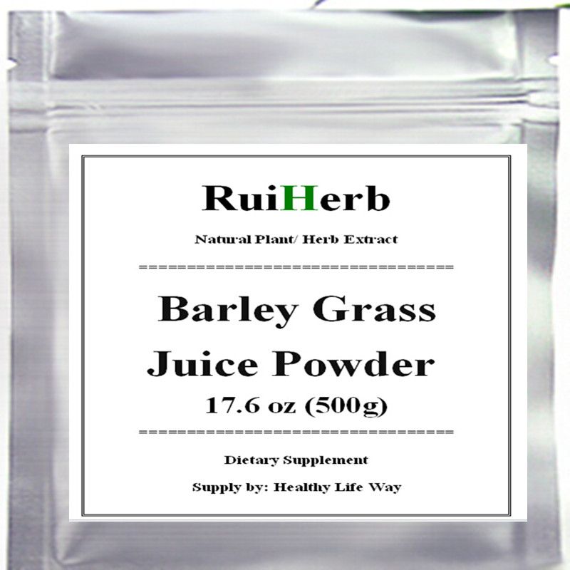 Organic Barley Grass Juice Powder 500gram(17.6 oz) free shipping spot blotch of barley