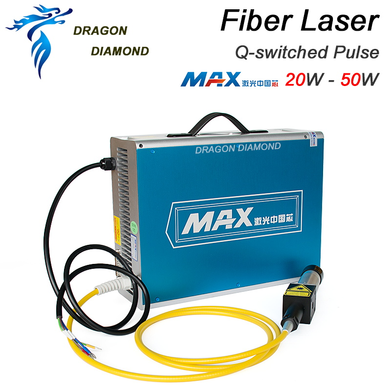 New Laser marking machine MAX 20W-50W MFP-20/30/50 Q-switched Pulse Fiber Laser Series GQM 1064nm Fiber Laser Marker Generator цены