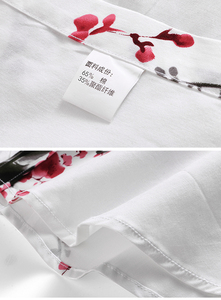 Image 3 - LONMMY 6XL 7XL koszula hawajska mężczyźni kwiecista długa rękaw koszule męskie sukienka 65% bawełna casual slim fit Blusas masculina kwiat nowy