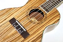 Concert Ukulele 23 Inch Hawaiian Mini Small Guitar 4 Strings Ukelele Guitarra Handcraft Zebra Wood Musical Instruments Uke