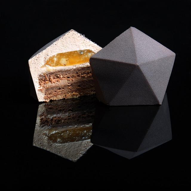 Geometrical 3D Silicone Cake Mold