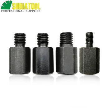 El adaptador SHDIATOOL 1 pc puede cambiar la rosca para M14 a M10, M10 a M14, M14 a 5/8, convertidor adaptador de brocas de 5/8 a M14