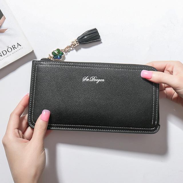 Women Wallets Phone Purse Long Hasp Female Purse