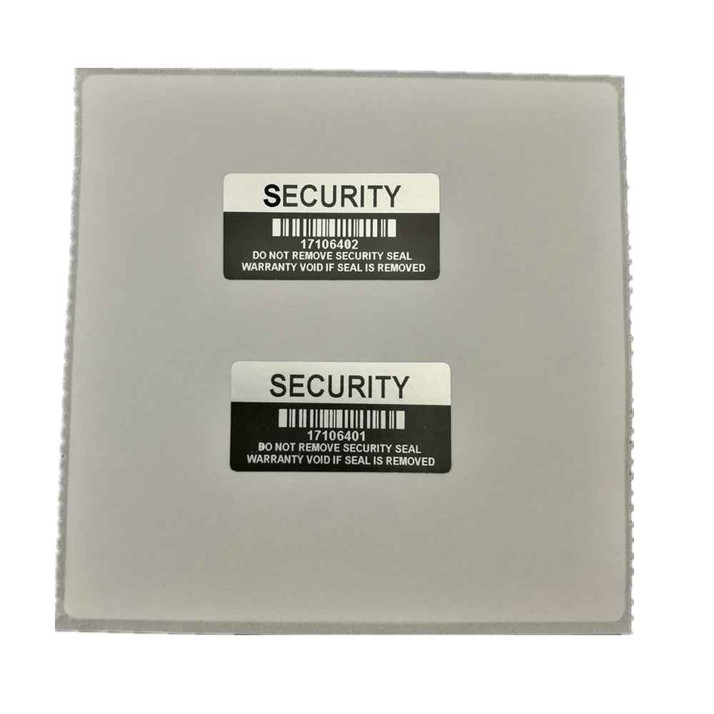 Image 2 - 1000 pieces Silver Color VOID Security Labels Removed Tamper Evident Warranty Sealing Sticker With Serial Number And Barcode-in Stationery Stickers from Office & School Supplies