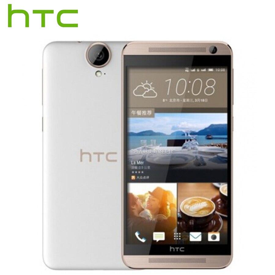 D'origine HTC One E9 + E9 Plus E9pw 4g LTE Téléphone Portable 5.5 pouce MTK Helio X10 Octa Core 3 gb RAM 32 gb ROM 20MP 2800 mah SmartPhone