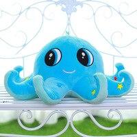 40cm Kawaii Stitch Plush Toys Stuffed Octopus Animal Spongebob Kids Toys Doll Soft Octopus Plush Baby