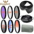 KnightX УФ CPL FLD окончил поляризационный dslr аксессуары цифровая камера для Canon Nikon 600d Sony линзы 52 мм 55 мм 58 мм 67 мм