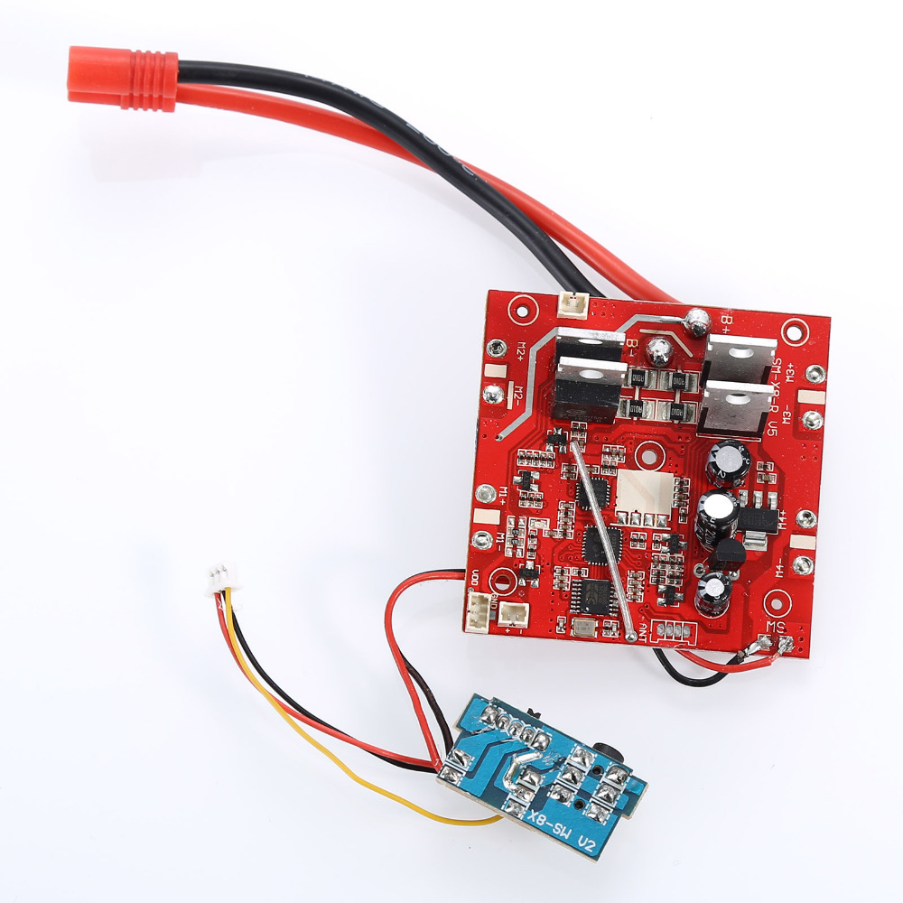 For Syma X8W X8C X8G Receiver Board X8C-17 Receiver Main Board FOR Spare Parts Newest x8c 07 decorative part for syma x8c