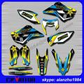 2014 2015 2016 husqvarna TC 125 250  FC 250 350 450 3M GRAPHICS  BACKGROUND DECALS STICKERS KITS  DIRT BIKE MOTORCYCLE