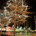 Marca Nueva Decoración de Interior A Prueba de agua 30 M 200LED Luces de la Secuencia de Hadas de Navidad de La Boda Árbol de estado de Ánimo de Iluminación de Jardín