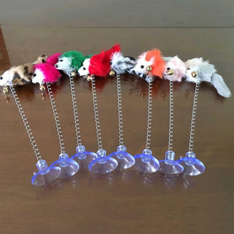 ขายสัตว์เลี้ยงของเล่นปากกายืดหยุ่นปลอม MouseToys Interactive Kitty Scraper แมวผลิตภัณฑ์อุปกรณ์