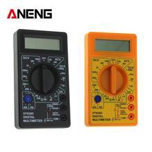 ANENG DT-830D Mini Digital Multimeter AC/DC Volt Amp Ohm Diode hFE Continuity Tester