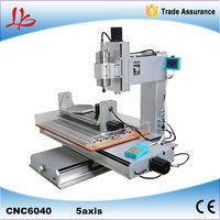 6040 5 Axis Mini Cnc Milling Machine With High Performance 1500W Cnc Router Russia Free Tax