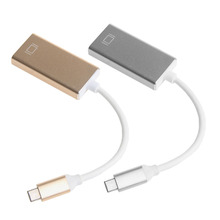 Newest2 Colors USB 3.1 Type C USB-C To HDMI Audio & Video Cables Converter HDTV 4K Adapter Male To Female For 12″ Macbook